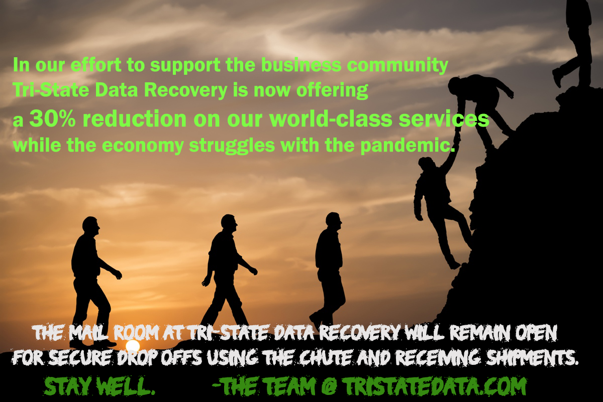 Tri-State Data Recovery economic support